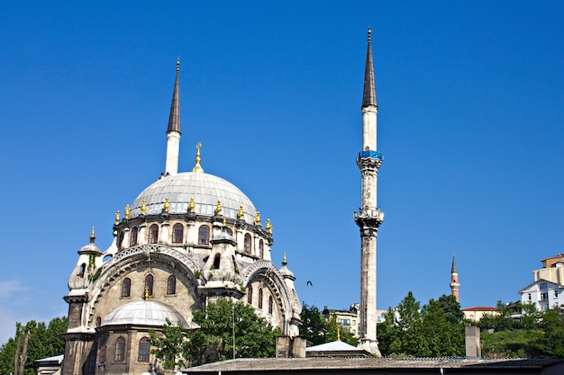 Mosque in the istanbul, turkey