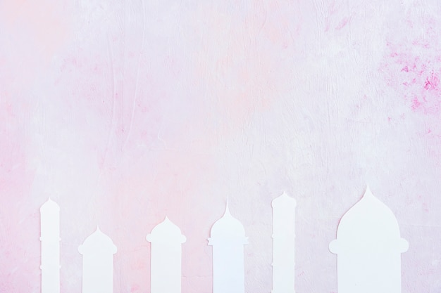 Mosque silhouette cut out