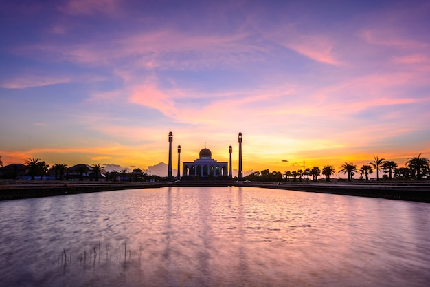 Mosque of songkha province, thailand