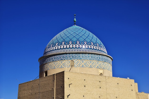 The mosque in yazd city, iran