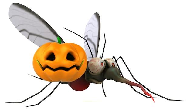蚊-3dイラスト
