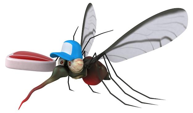 모기 - 3d 일러스트레이션