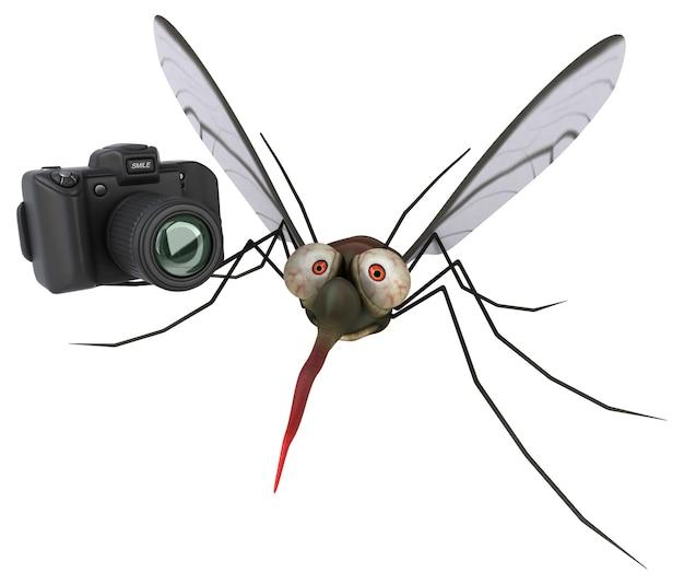 모기 3d 그림
