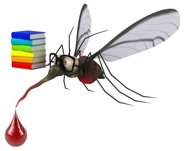 Иллюстрация комара