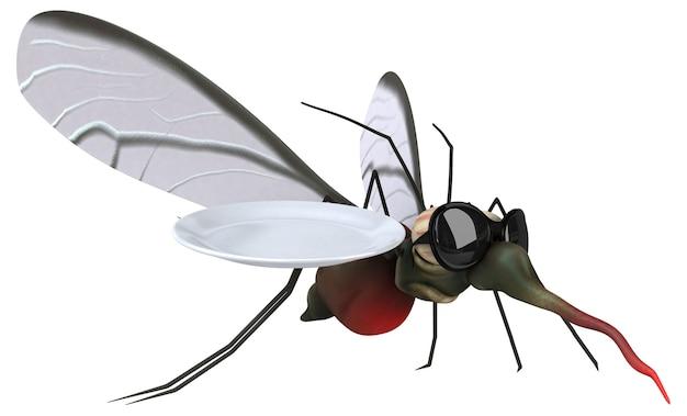 Комар иллюстрация