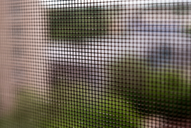 Mosquito net, window.