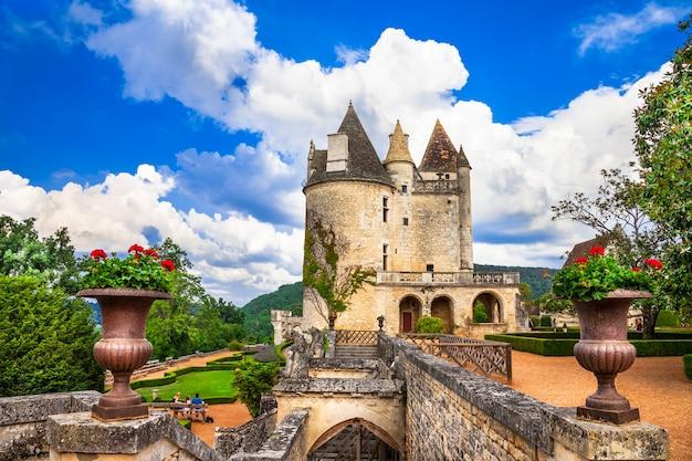 Most impressive medieval castles of france