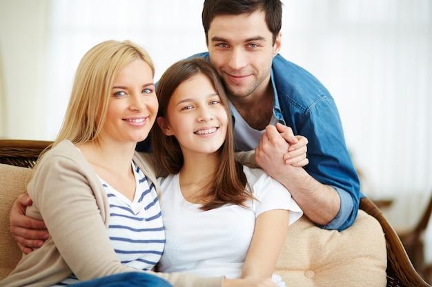 Мать и дети, с удовольствием