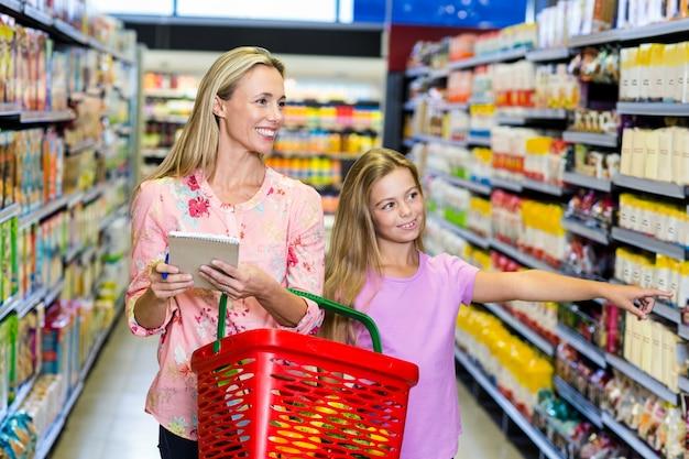 Контрольный список матери и дочери