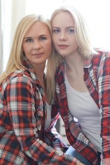 엄마와 딸
