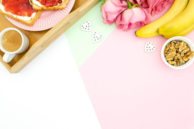 Mother's day concept with copy space