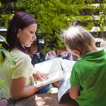 少年読書の母