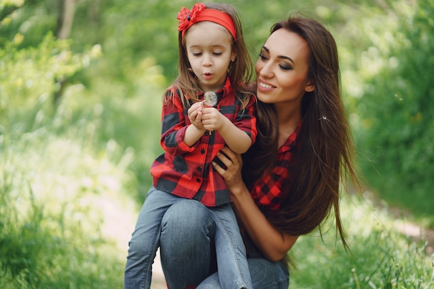 딸과 어머니