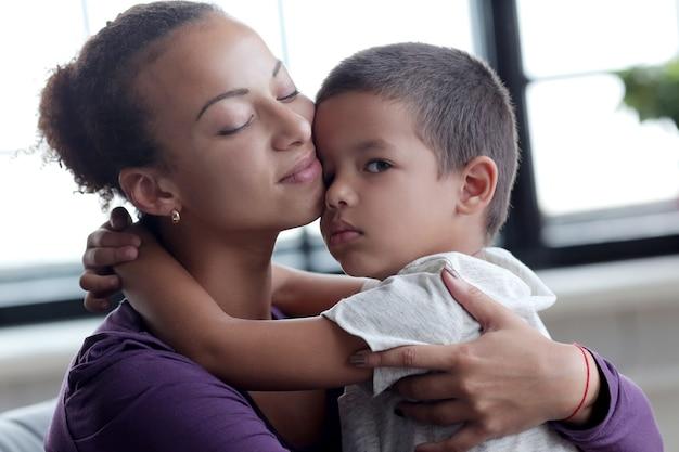 息子を持つ母