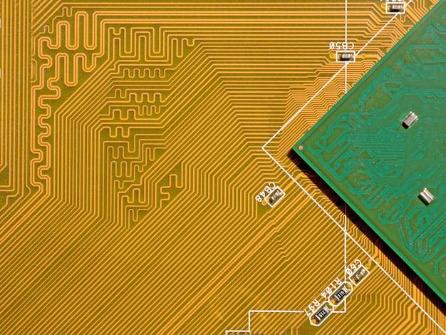 프로세서가 있는 마더보드 칩