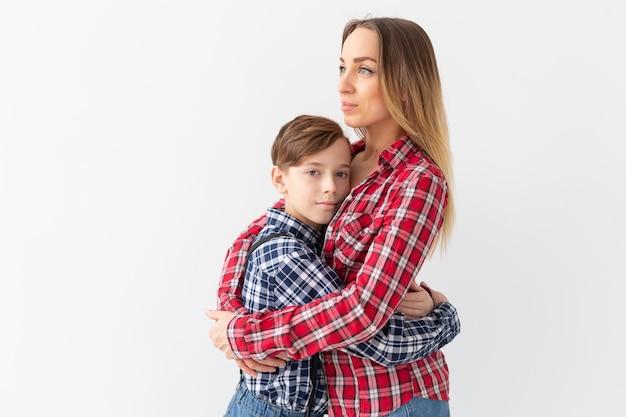 어머니의 날, 어린이 및 가족 개념