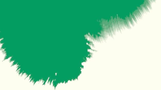 モーション抽象的な緑と白のスプラッシュ、カラフルなグランジの背景。流行に敏感な水彩画のテンプレートのエレガントで豪華な3dイラストスタイル