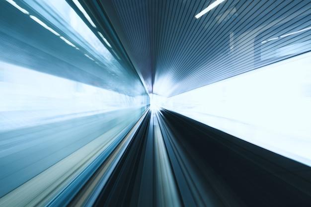 Размытие движения поезда
