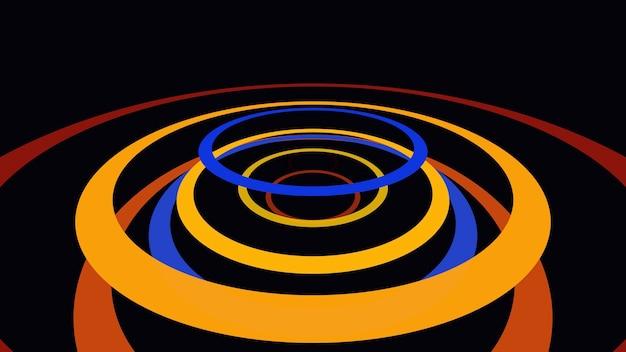Движение красочные линии абстрактный фон. элегантный и роскошный динамичный стиль для бизнеса, 3d иллюстрации