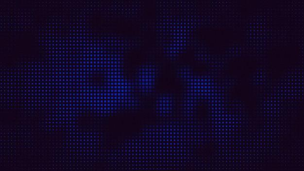 모션 복고풍 픽셀 추상적인 배경입니다. 우아하고 고급스러운 동적 기하학적 80년대, 90년대 멤피스 스타일의 3d 일러스트레이션