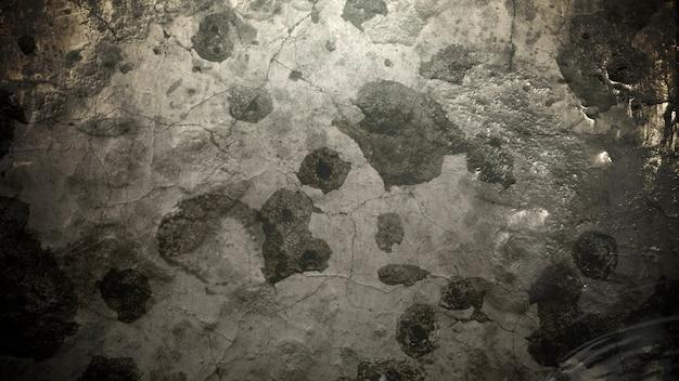 Дым движения и частицы на стене гранж, темный кинематографический фон. роскошная и элегантная 3d иллюстрация темы кино