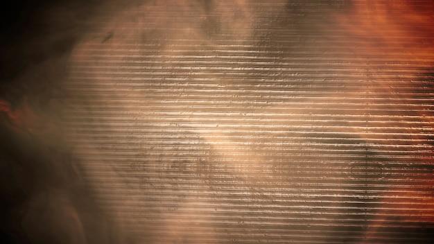 Дым движения на кинематографическом фоне с текстурой гранж. роскошная и элегантная 3d иллюстрация темы кино