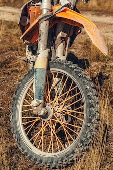 Motocross bike - details