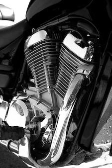 Motor and motorcycle engine.