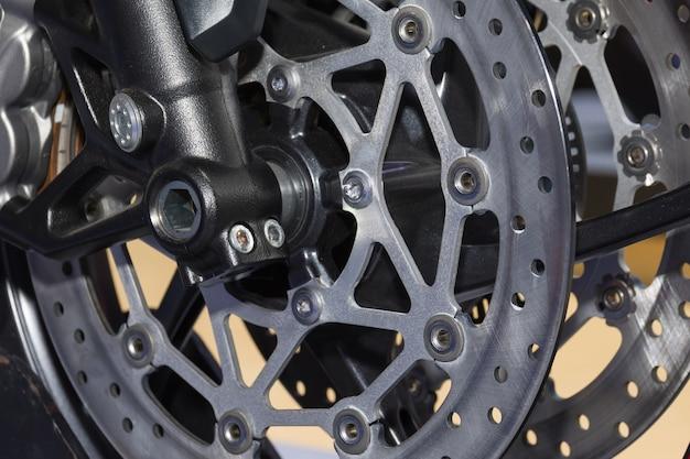 Motorcycle disk brake system