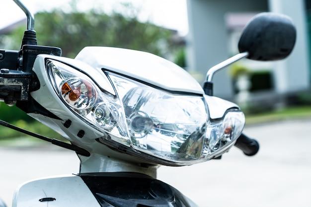 Motorcycle headlight or head lamp