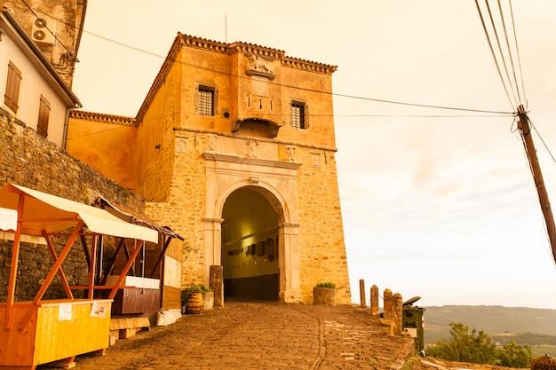 Motovun town gate