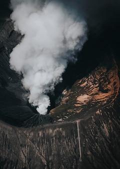 Mount bromo volcano in indonesia