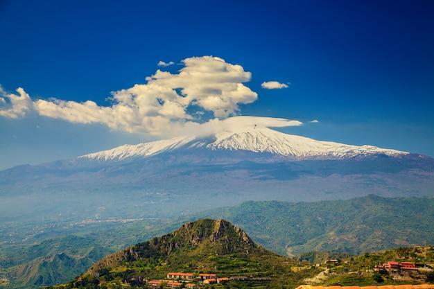 Гора этна, сицилия