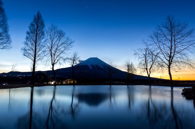 Mount fuji fujisan star