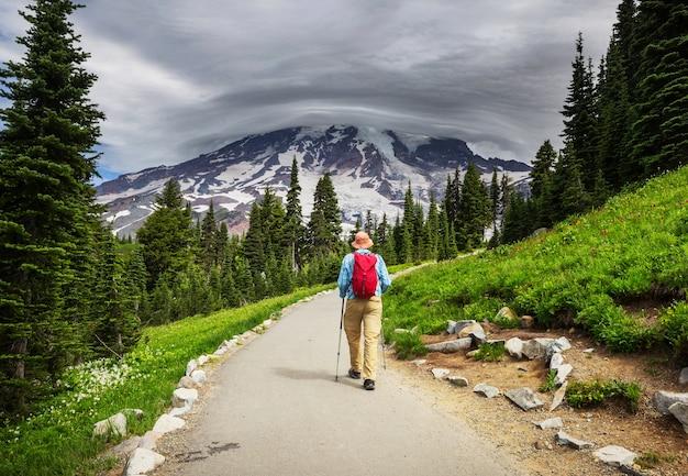ワシントン州レーニア山国立公園