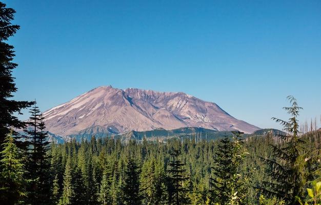 米国ワシントン州のセントヘレンズ山