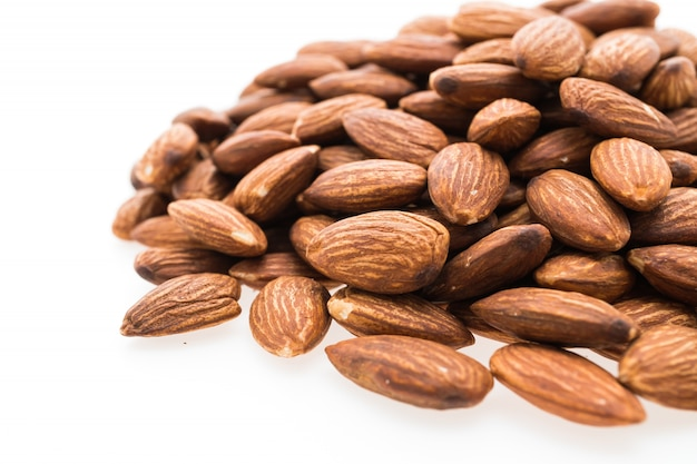 Mountain almonds closely