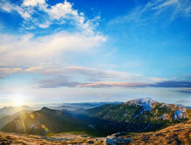 山の美しい風景