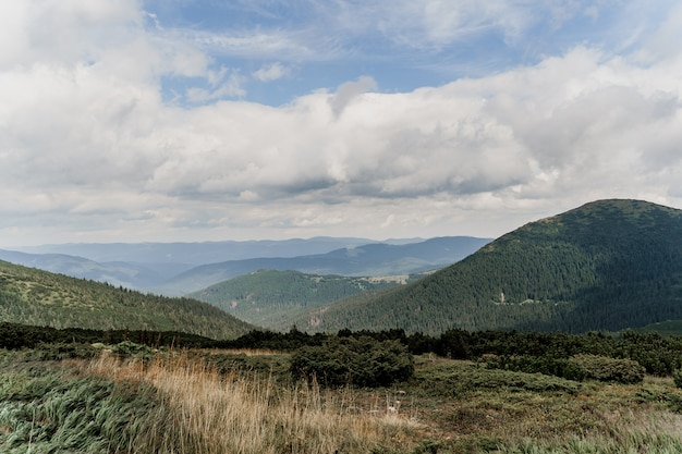 霧と雨の山ホヴェールラ