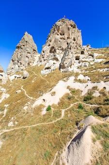 山の風景。カッパドキア、アナトリア、トルコ。