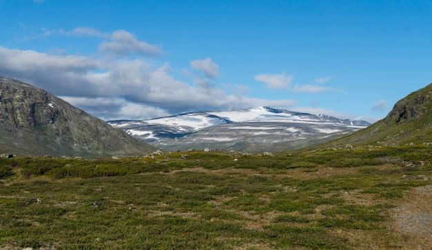 Jotunheimen 국립 공원, 노르웨이의 산 풍경