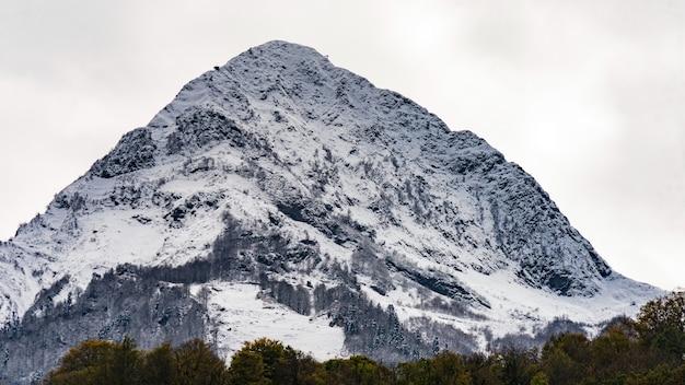 Mountain landscape of krasnaya polyana, sochi, russia.
