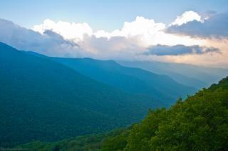 山の風景山の風景