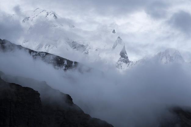 Mountain peak in nepal