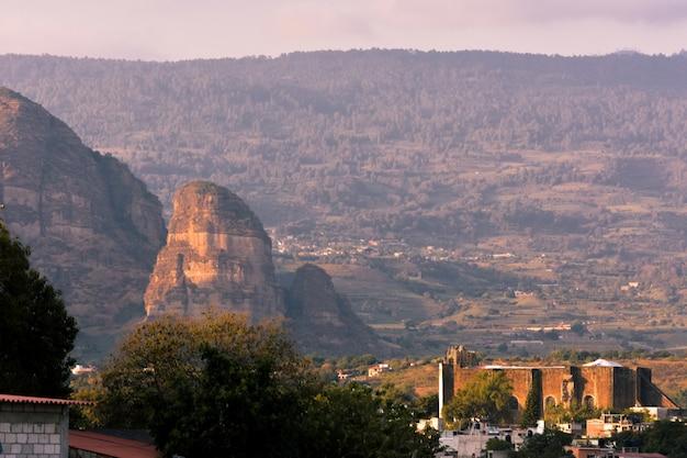 山トラヤカパンモレロスメキシコ