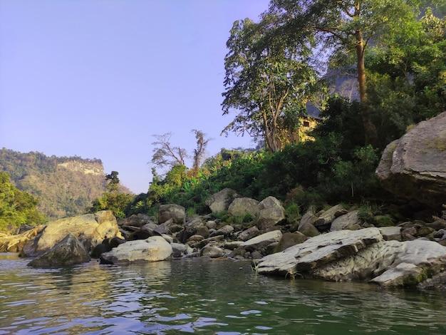 マウンテンビュー自然風景写真