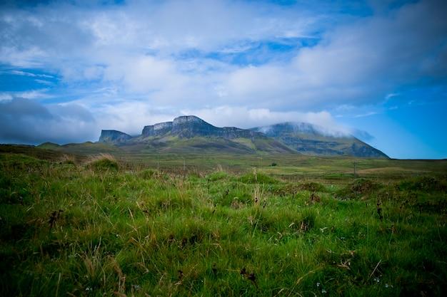 Mountainous landscapes of the scottish highlands