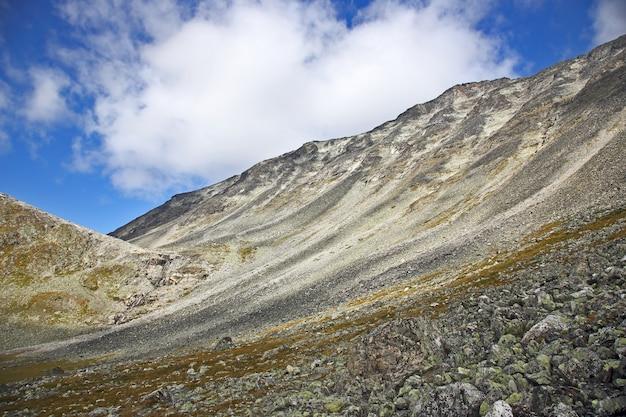 Mountainous terrain in norway. jotunheimen national park