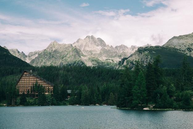 山と湖、ビンテージフィルター