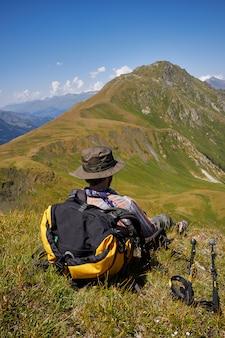 Mountains of the caucasus range arkhyz
